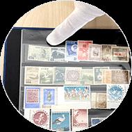 事前に切手の名前・金額・枚数を調べて控えておく